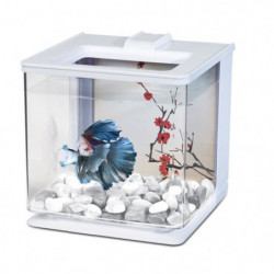 MARINA Aquarium Ez Care pour betta - 2,5 L - Blanc