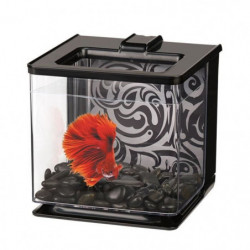 MARINA Aquarium Ez Care pour betta - 2,5 L - Noir