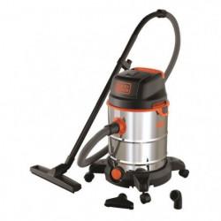 BLACK & DECKER Aspirateur eau et poussiere sur roues 1600 W