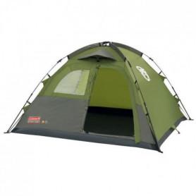 COLEMAN Tente Instant Dome 3 - 3 Personnes - Vert et Gris