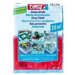 TESA Bâche de protection Universelle - 20m² - 4m x 5000mm