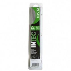 INE Lot de 10 électrodes inox Ø2,5 mm