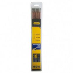 STANLEY 460733  Lot de 8 électrodes inox - Ø 3,25 mm - L 350
