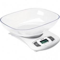 SENCOR SKS 4001WH Balance de cuisine avec bol - Blanc