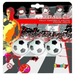 SMOBY Balles Plastiques Baby Foot