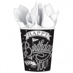 AMSCAN Lot de 18 Gobelets carton Hooray It's Your Birthday 2