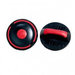 IRON GYM Accessoire de Musculation Push Up Rotatif Max
