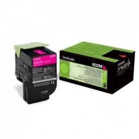 Lexmark Toner 802M - 80C20M0 - Magenta