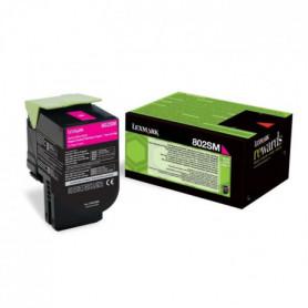 Lexmark Toner 802SM - 80C2SM0 - Magenta