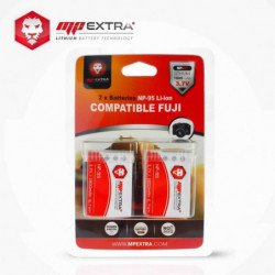 2 x batterie NP-95 NP95 pour FUJI - MP EXTRA