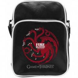 Sac Besace Game Of Thrones - Targaryen - Vinyle Petit Format