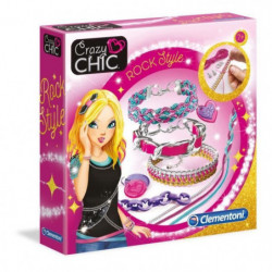CLEMENTONI Crazy Chic - Bracelets Rock Style - Création bijo