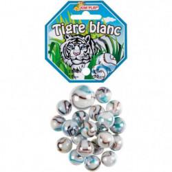 KIM'PLAY 20+1 Billes Tigre Blanc