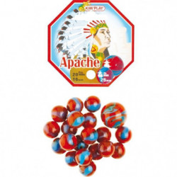 KIM'PLAY 20+1 Billes Apache