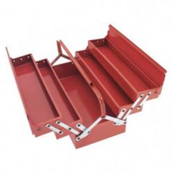 COGEX Caisse a outils vide métal 5 compartiments