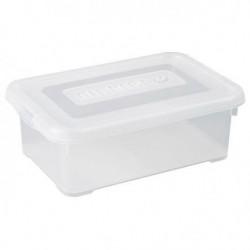 ALLIBERT Boîte de rangement Handy - Couvercle transparent -