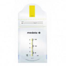 MEDELA Boîte de 25 Sachets de conservation de lait maternel