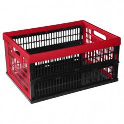 ALLIBERT Caisse pliante 34 L rouge