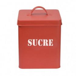 FRANDIS Boîte a sucre carrée en métal - 12 x 12 x 16,5 cm -