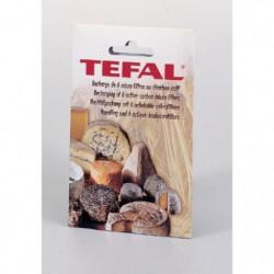 TEFAL Lot de 6 Filtres recharge pour cave a fromages anti-od