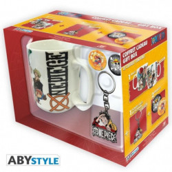 Pack Mug + Porte-clés + Badges One Piece - New World - ABYst