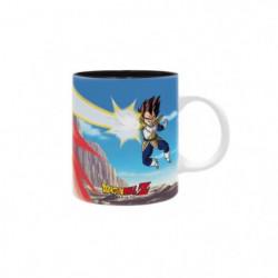 Mug Dragon Ball - 320 ml - DBZ  /Goku VS Vegeta - subli - bo
