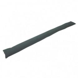 Boudin de porte 100% coton uni - 90x10 cm - Gris anthracite