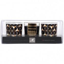 LE CHAT Coffret de 3 bougies de Noël - Parfum mûre gourmande