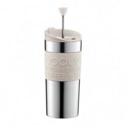 BODUM TRAVEL PRESS Mug a piston en inox double paroi 0.35 l