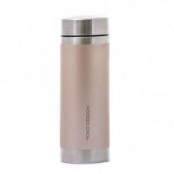 YOKO DESIGN Bouteille isotherme avec filtre a thé - Irisé or