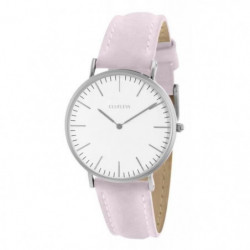 CLUELESS - BCL10072-204 / Montre Rose Silver Blanc Femme