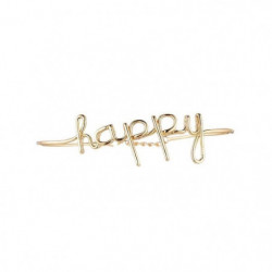 Bracelet Jonc Happy Femme
