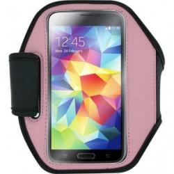 BLUEWAY Brassard pour Galaxy S4 I9500/ Galaxy S5 G900 - Rose