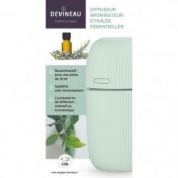 DEVINEAU Diffuseur brumisateur d'huiles essentielles - Vert
