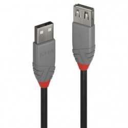 LINDY Rallonge USB 2.0 type A - Anthra Line - 5m