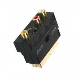 APM 402005 Adaptateur S / VHS - Péritel - 3 RCA