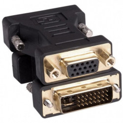 LINEAIRE AD280 Adaptateur VGA mâle / DVI-I femelle