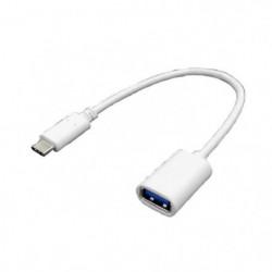LINEAIRE AD315 Adaptateur USB C mâle / USB à femelle OTG