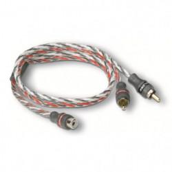 "MTX Câble RCA ""Y"" StreetWires ZNXY1F 1 Femelle 2 Mâles 50 cm"