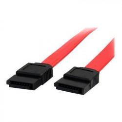 Câble SATA de 46 cm - Cordon Serial ATA en rouge - Câble SAT