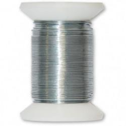 Fil métallique acier galvanisé - L 50 m x Ø 0,3 mm