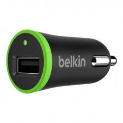 BELKIN  Mini chargeur allume-cigare USB 5V - 1A - Noir
