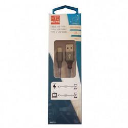 M500 Câble de charge et data avec adaptateur USB type C 2,4