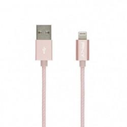 PNY Câble de Charge & Synchronisation Lightning? 1,2m  Rose