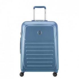 VISA DELSEY Valise Trolley Munia - 66 cm - 4 Roues - Bleu