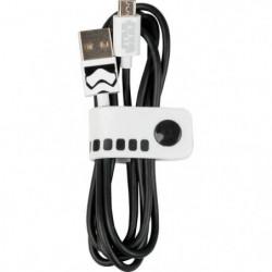 Tribe Câble Micro-Usb Stormtrooper - 1,2 metre de long