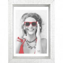 SCALLA Cadre photo moulure coffre 15x21 cm blanc
