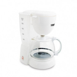 SCHMIT - SCH1012WHT - Cafetiere 10 tasses avec filtre perman