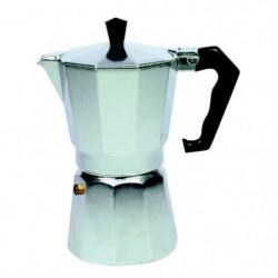 MONIX Cafetiere Italienne 9 tasses a pression 3935008 gris