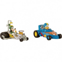 MICKEY ROADSTER RACERS Voitures Donald & Pluto Pack Mickey &